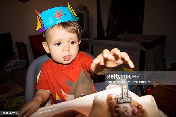 Baby one year birthday