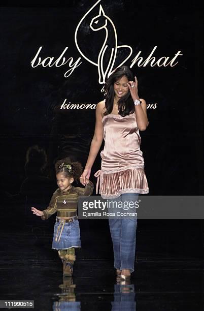 Baby Phat designer Kimora Lee Simmons and her daughter