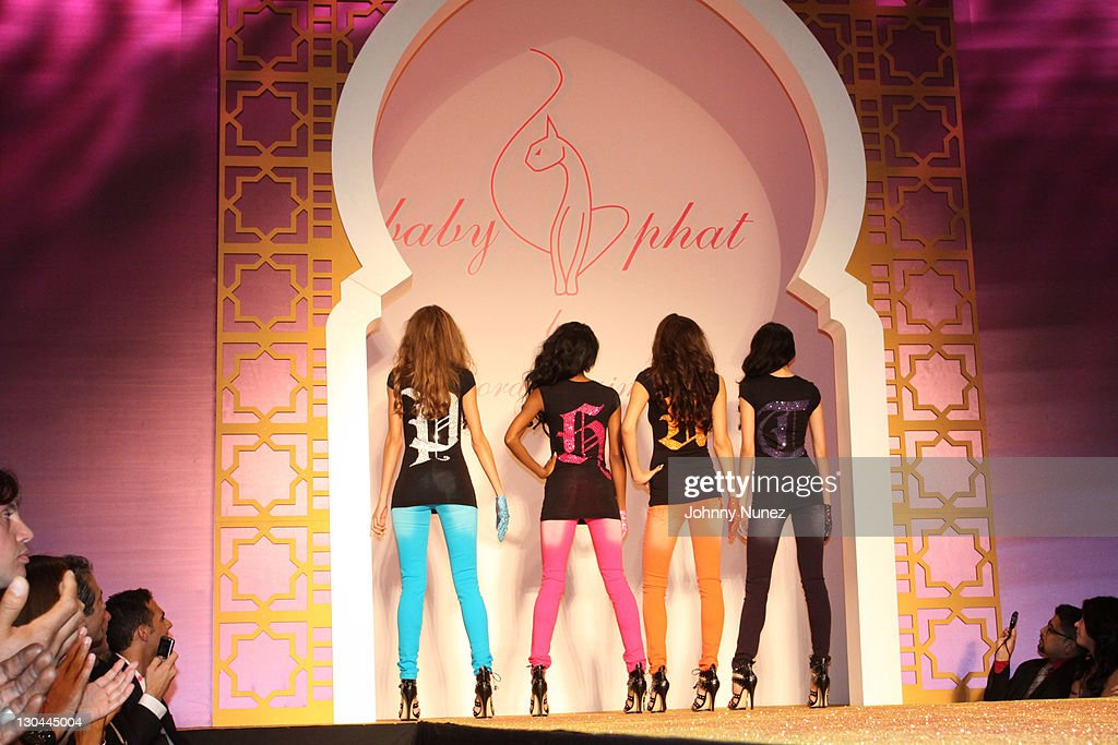 Mercedes-Benz Fashion Week Spring 2010 - Baby Phat & KLS Collection - Front Row And Backstage : News Photo