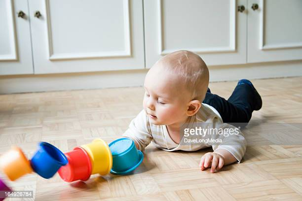 Baby Playing and Learning