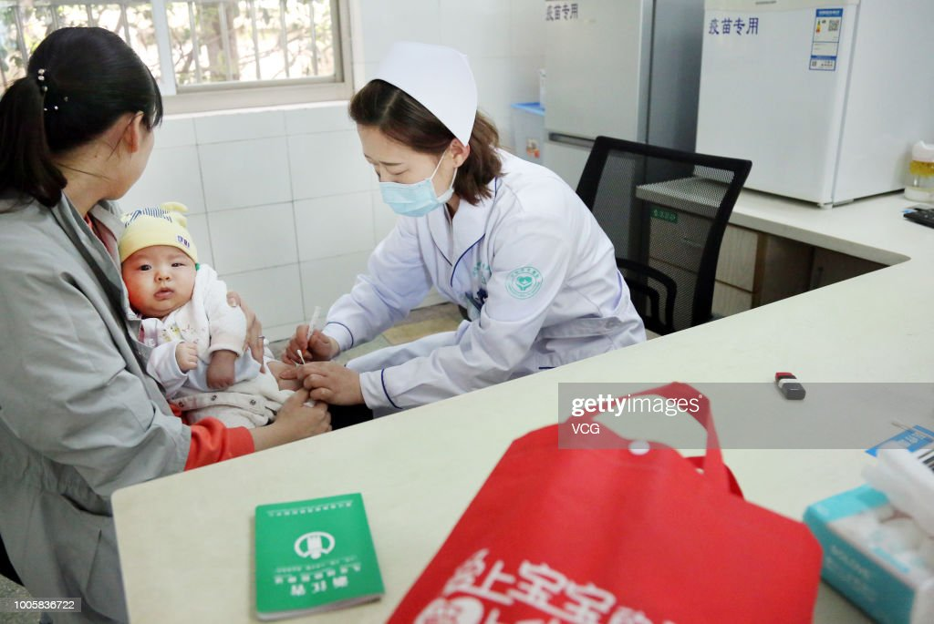 Vaccination For Children In China