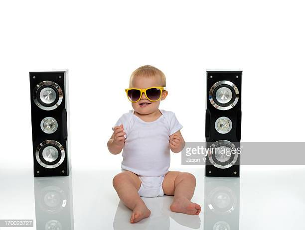 Baby Rocking Out