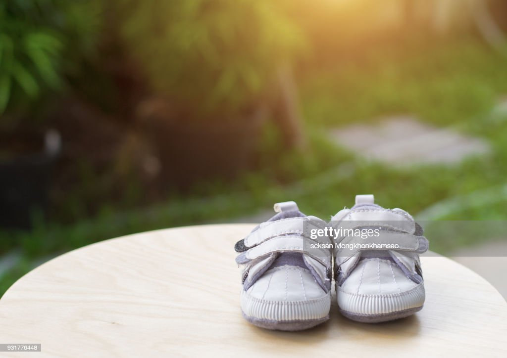 Baby shoes : Stock Photo
