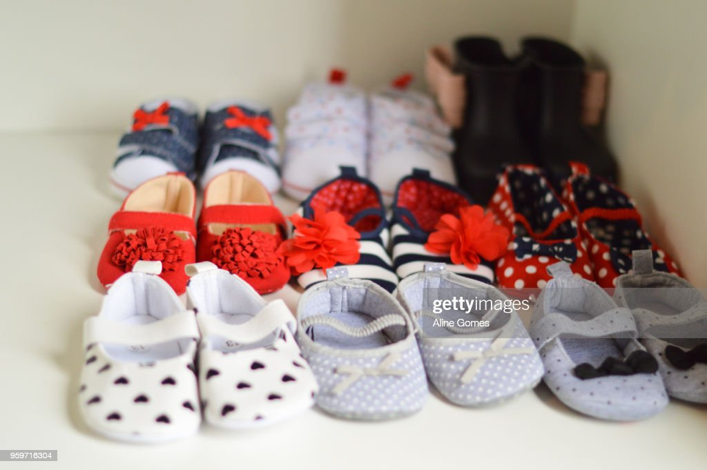 Baby shoes : Stock-Foto