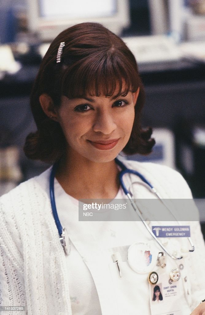 ER -- 'Baby Shower' Episode 15 -- Air Date -- Pictured: Vanessa Marquez as Nurse Wendy Goldman -- Photo by: Alice S. Hall/NBCU Photo Bank