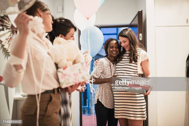 baby showers party - baby shower stock pictures, royalty-free photos & images
