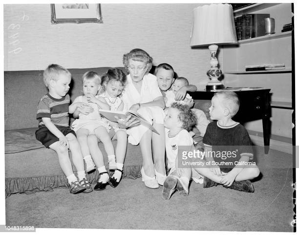 Baby Sitters Guild of Hollywood 26 August 1953 Mrs Ida ParkerMrs Sterling HaydenMathew Hayden 1 yearCasey Hayden 5 yearsDana Hayden 4 yearsDiana...