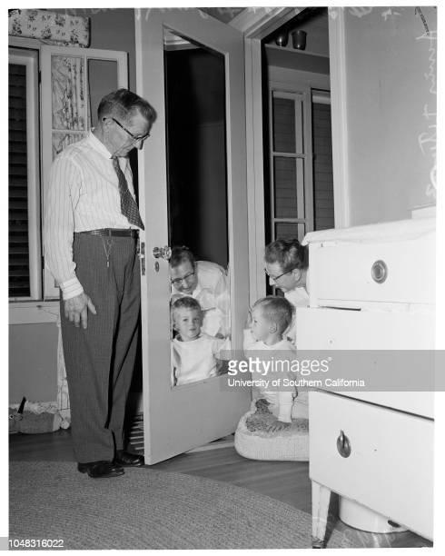 Baby Sitters Guild of Hollywood 27 August 1953 Mrs Ruth CoffmanMelinda Sparks 18 monthsWilliam O Hewlett 73 yearsMrs Esther Hewlett 89 yearsStephen...