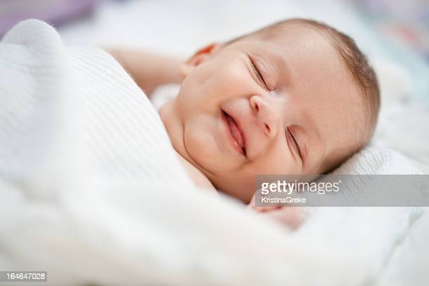 Baby smile in dreams