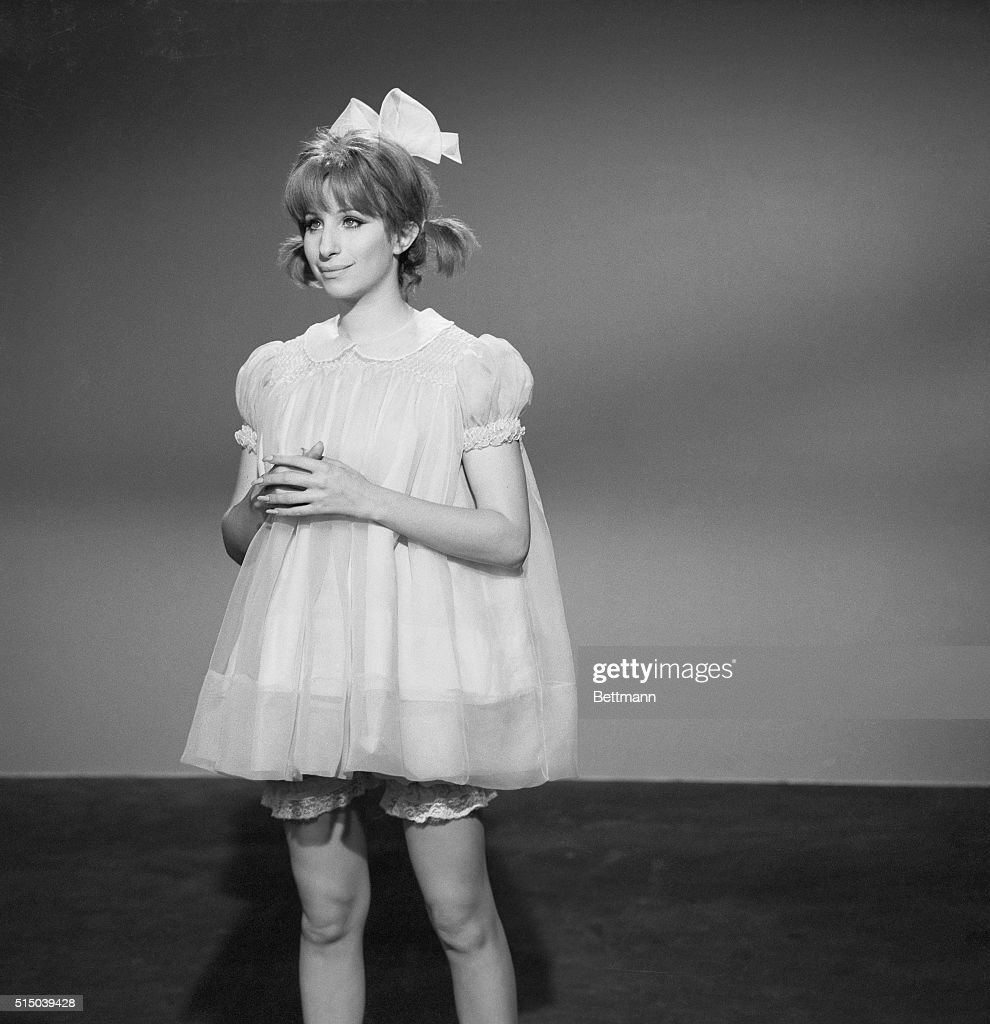 Barbra Streisand as Baby Snooks : News Photo