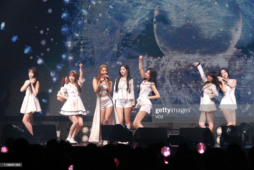 HKG: Lovelyz Performs In Hong Kong