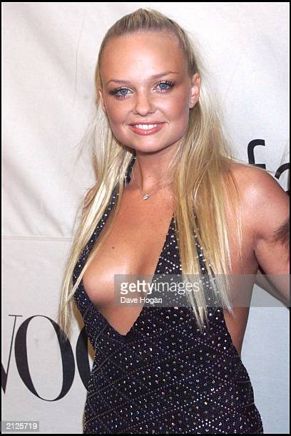 Baby Spice Emma Bunton at the VH1/Vogue Fashion Awards held at Madison Square Garden New York NY on October 20 2000 Bunton denied rumours that one of...