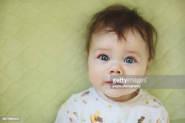 Baby surprised