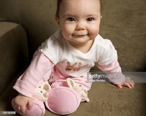 Baby with Slippers