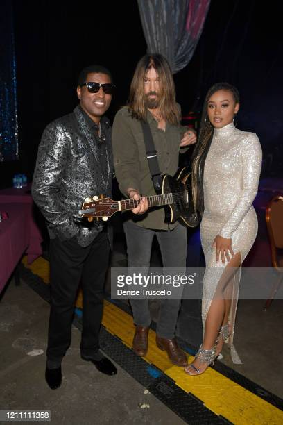 Babyface Billy Ray Cyrus and Katlyn Nichol attend the 24th annual Keep Memory Alive 'Power of Love Gala' benefit for the Cleveland Clinic Lou Ruvo...