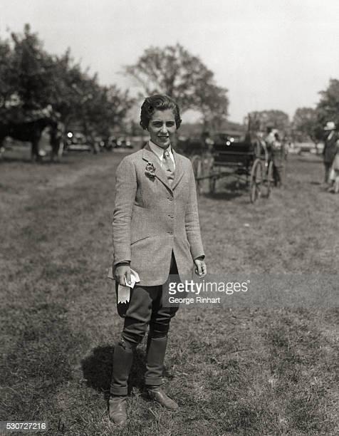 SOCIETY NOTABLES ATTEND BABYLON HORSE SHOW Mrs John V Bouvier 3rd