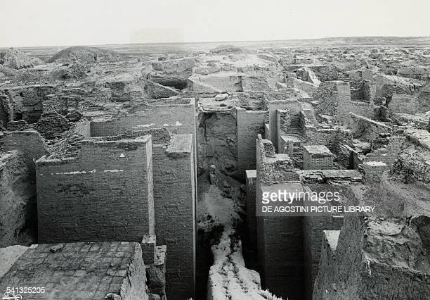 Babylon the first phase of the Ishtar Gate excavations Iraq 20th century Berlin Pergamonmuseum Vorderasiatisches Museum