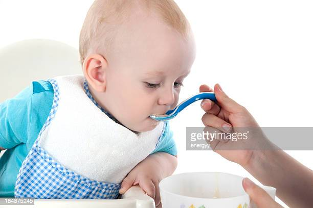 Baby's lunch time