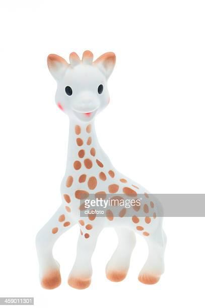 bébé girafe teether de sophie - girafe photos et images de collection