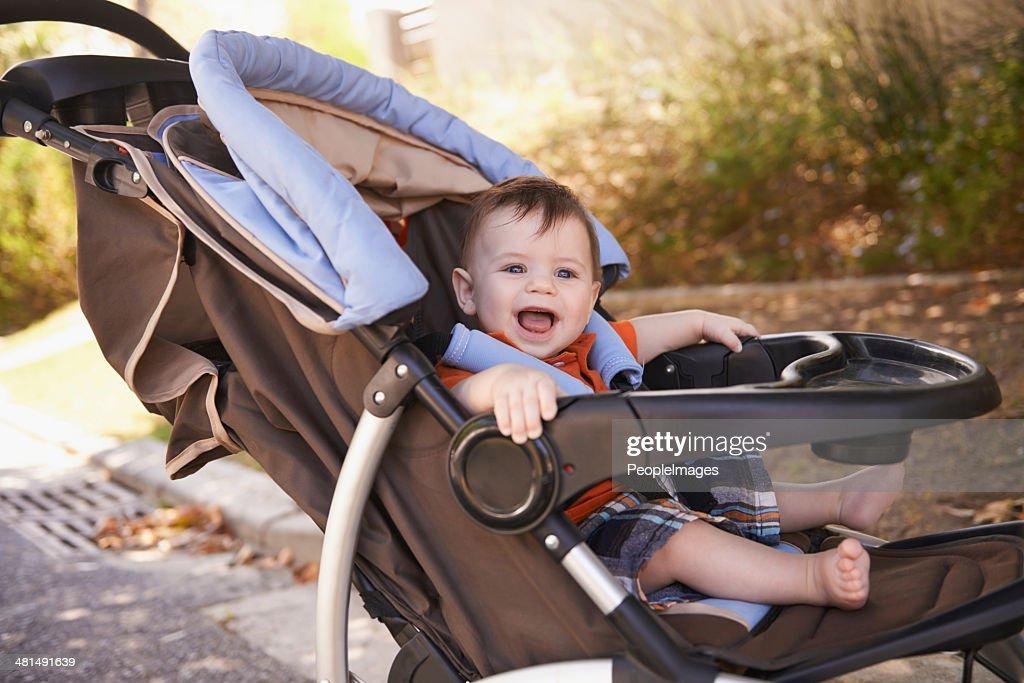 Baby's transport : Stock Photo