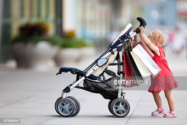 baby-shopping - carriage stock pictures, royalty-free photos & images