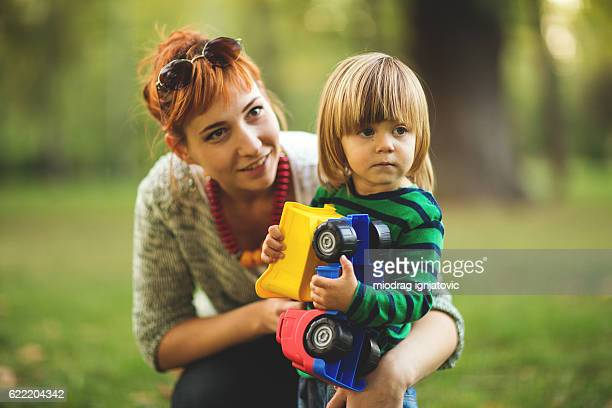 babysitter - nanny stock photos and pictures
