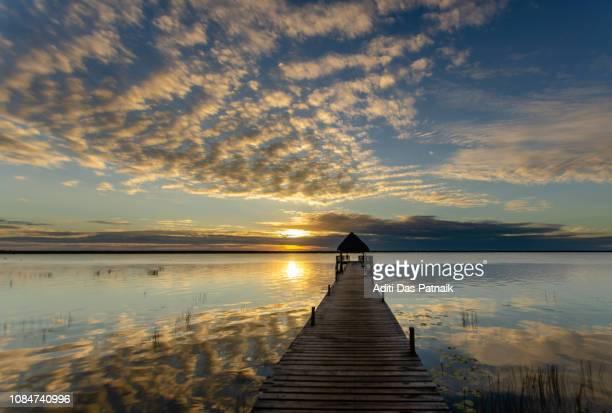 Bacalar Lagoon at Sunrise