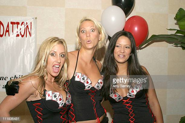 Bacardi girls during PS I Love You Foundation Celebrity Casino Night in Los Angeles California United States