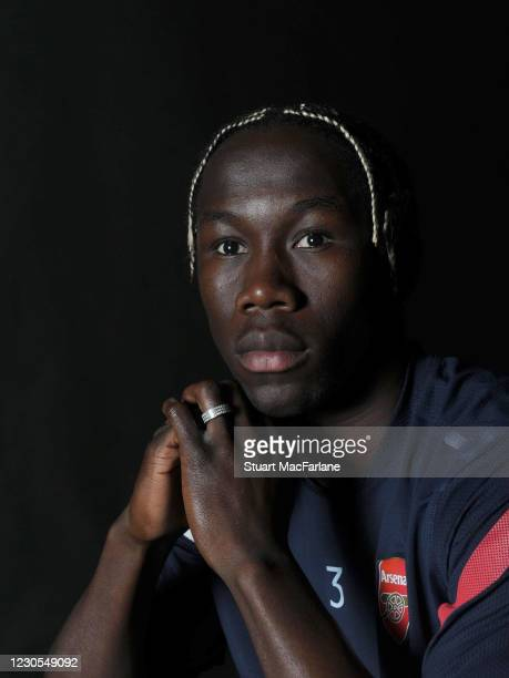 Bacary Sagna of Arsenal during an Arsenal Magazine photoshoot on March 15 2012 in St Albans England