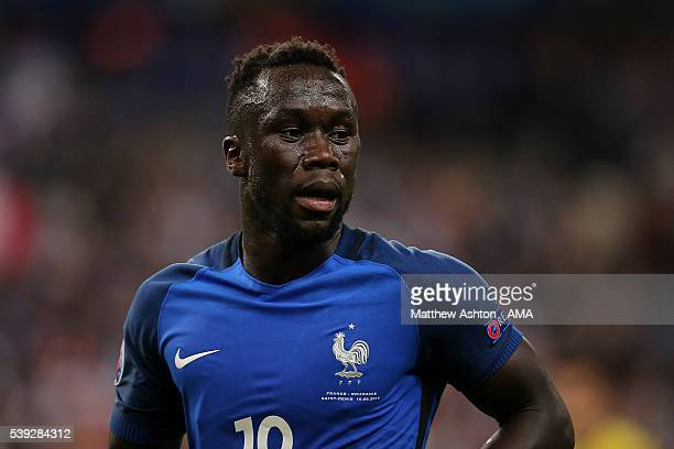 Bacary Sagna of France looks on during the UEFA EURO 2016 Group A match between France and Romania at Stade de France on June 10 2016 in Paris France
