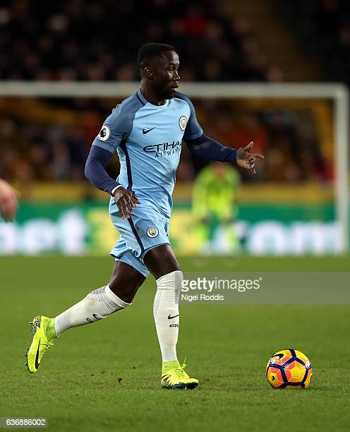 Bacary Sagna of Manchester City during the Premier League match between Hull City and Manchester City at KC Stadium on December 26 2016 in Hull...