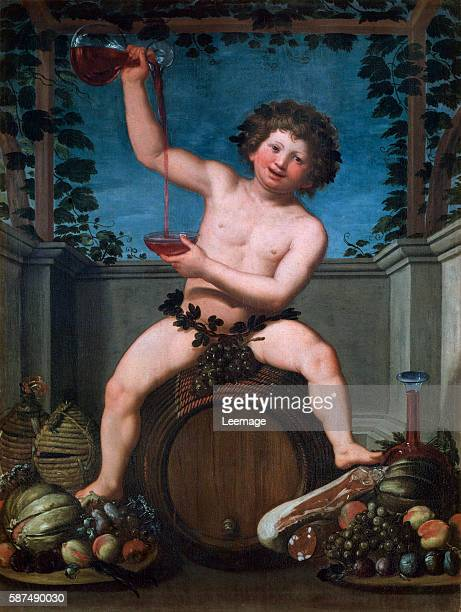 Bacchus by Baccio del Bianco 1630 153x115 cm Private collection
