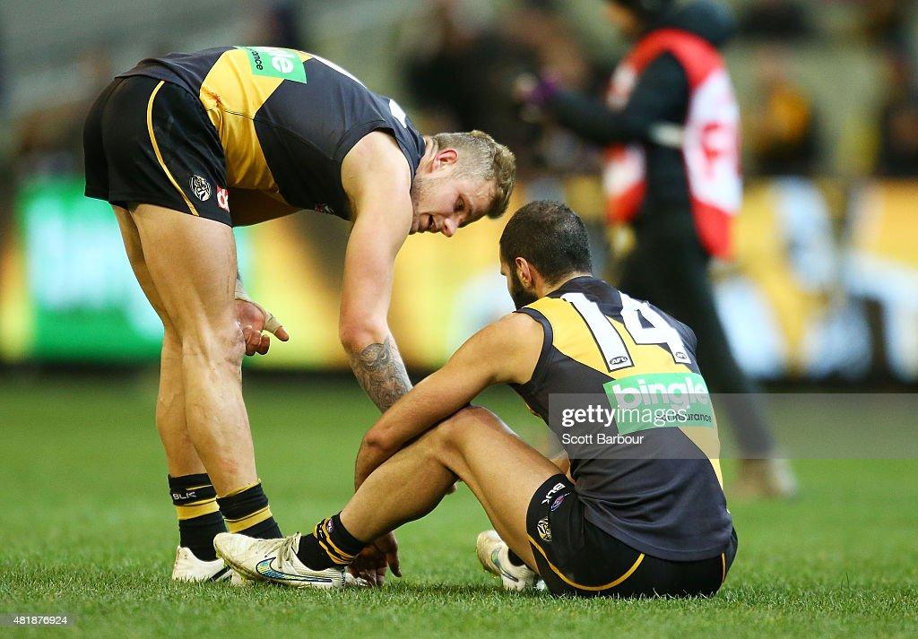 AFL Rd 17 -  Richmond v Fremantle : News Photo
