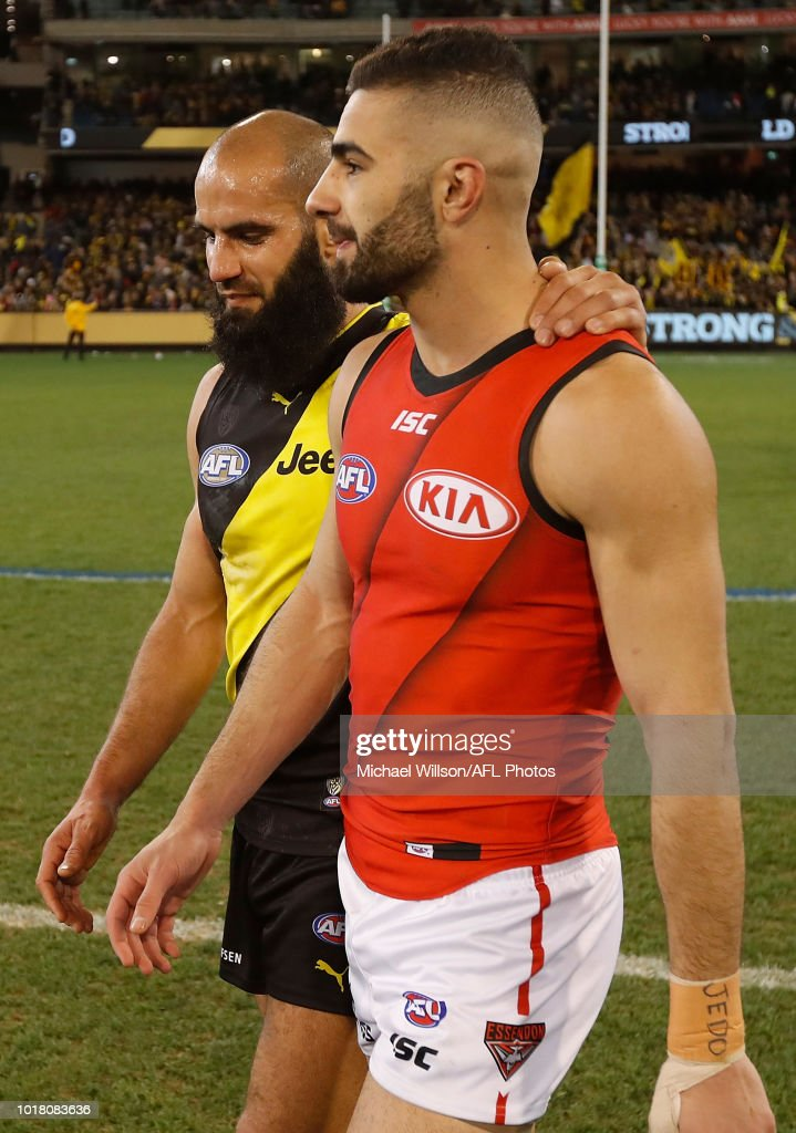 AFL Rd 22 - Richmond v Essendon : News Photo
