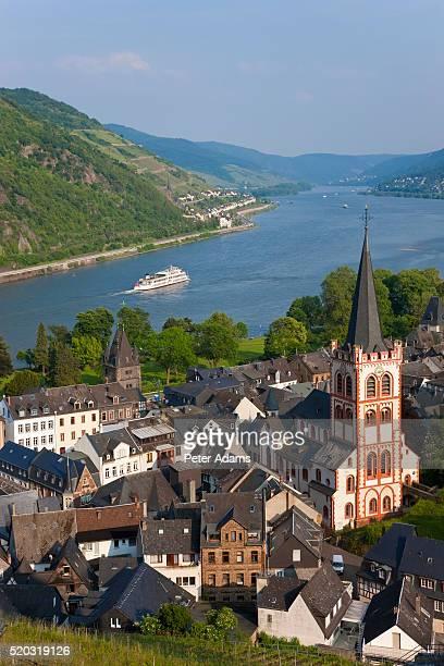 Bacharach and the River Rhine