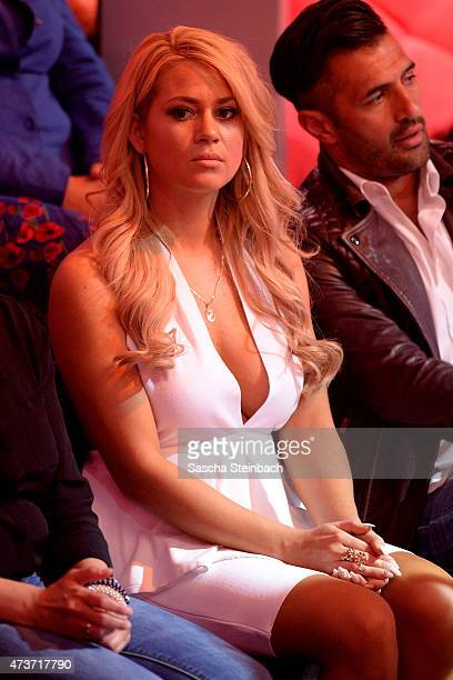 Bachelor 2014 participant Jessica Paszka during the 9th show of the television competition 'Let's Dance' on May 15 2015 in Cologne Germany