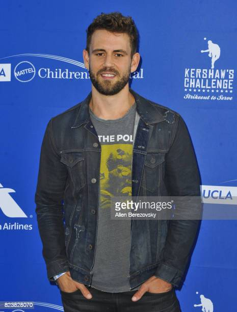 Bachelor alum Nick Viall attends the 5th Annual Ping Pong 4 Purpose on July 27 2017 in Los Angeles California