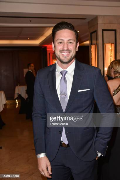 Bachelor Daniel Voelz during the Aline Reimer Foundation Gala on July 7 2018 in Berlin Germany