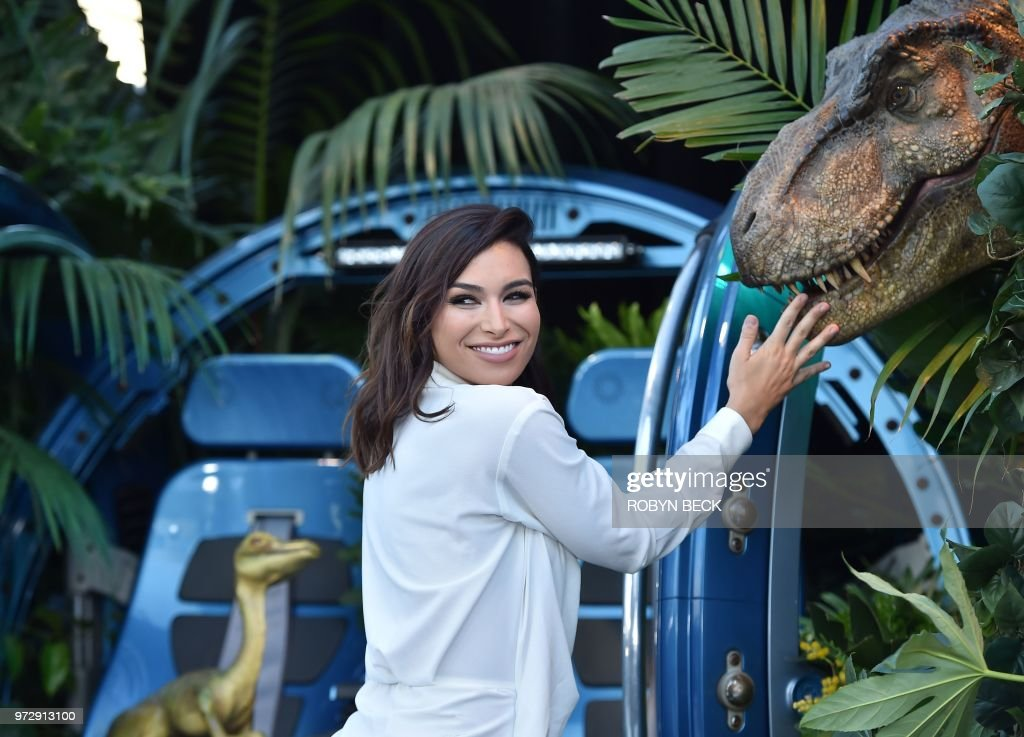 'Bachelor In Paradise' contestant Ashley Iaconetti attends the premiere of 'Jurassic World: Fallen Kingdom' on June 12, 2018 at The Walt Disney Concert Hall in Los Angeles, California.