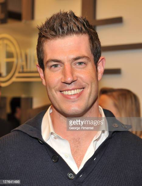 'Bachelor' Jesse Palmer attends the cocktail reception for the launch of John Allan's Club at The Bay on March 9 2011 in Toronto Canada