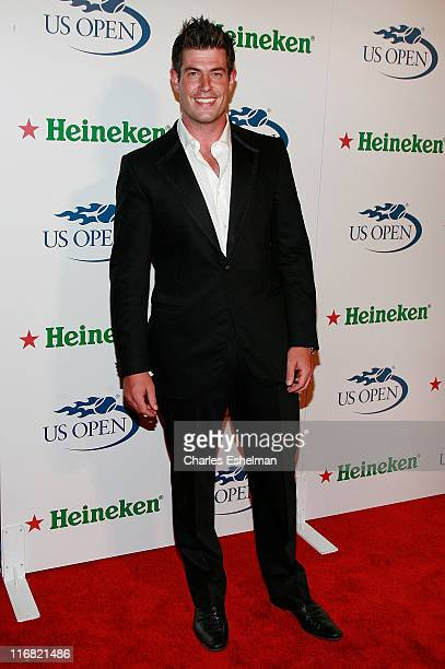Bachelor Jesse Palmer attends the US Open USTA/Heineken Premium Light Players Party at the Empire Hotel on August 22 2008 in New York City