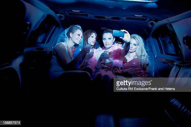 Bachelorette party in limousine