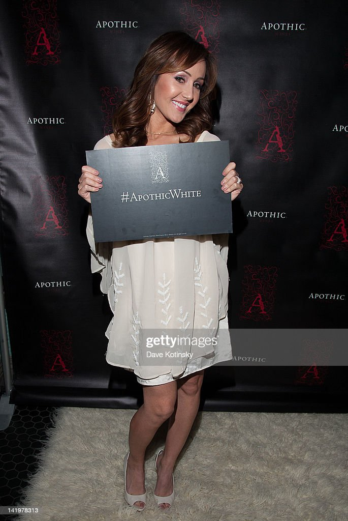 Bachelorette star Ashley Hebert attends the Apothic white wine launch at The Wooly on March 27, 2012 in New York City.