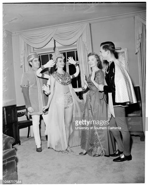 Bachelors Ball 2 February 1957 George MitchellSusan PetersGuy GreenwaldAnna E La ChapellePalmer CaseyBarbara Bina RobinsonVirginia HaleyJulien...