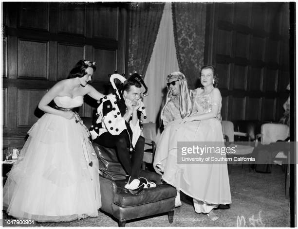 Bachelors Club Ball 14 February 1958 Hal DuncanMrs Richard MillerMrs Dickinson RossMr and Mrs Secondo Guasti IIIGuy P Greenwald JuniorRosemary...