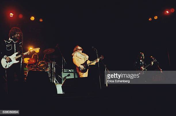 Bachman Turner Overdrive performing on stage Hammersmith Odeon London 1975