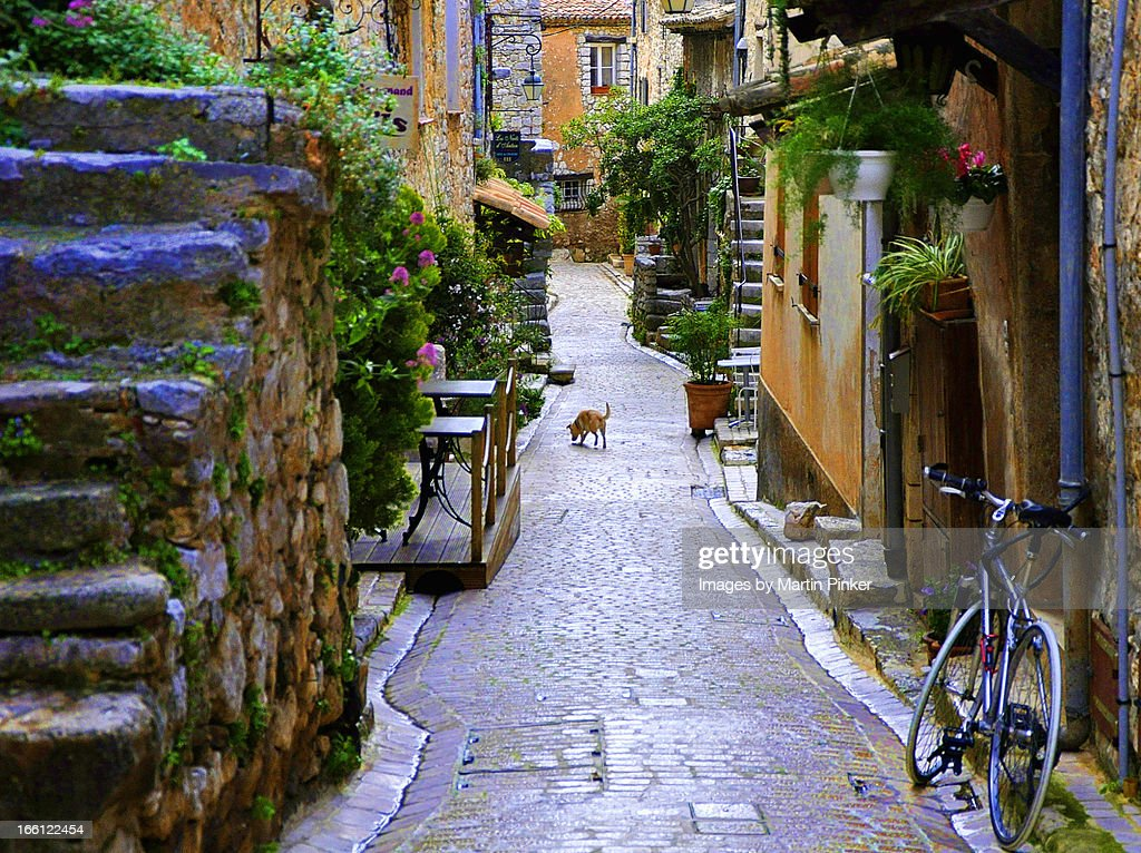 Back Alley, Provence : Stock Photo