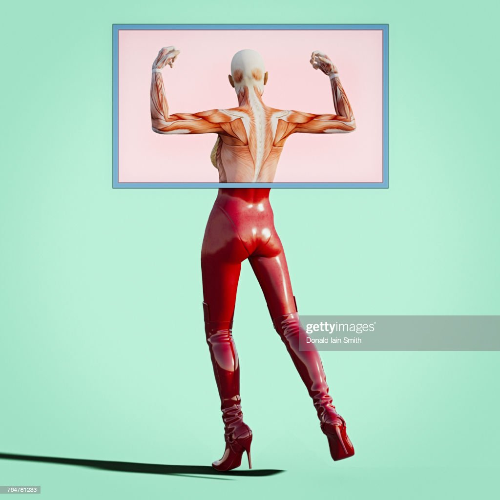 Back And Arm Muscles Of Woman Stock Photo Getty Images