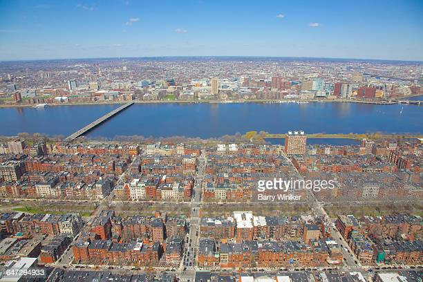 Back Bay, Boston, from up high
