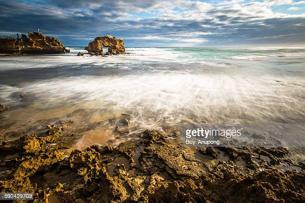 Back beach at Mornington Peninsula, Australia